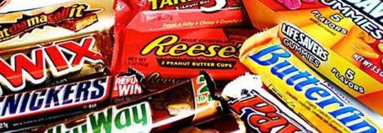 Top 10: Candy Bars